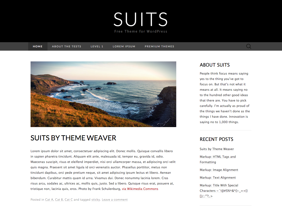 Suits screenshot