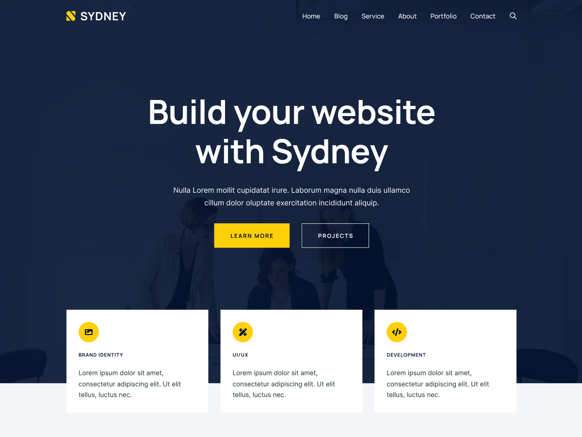 Top 30+ Best Free WordPress Business Themes in [sigma_current_year] 13