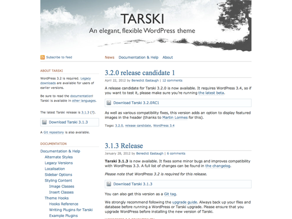 Tarski screenshot