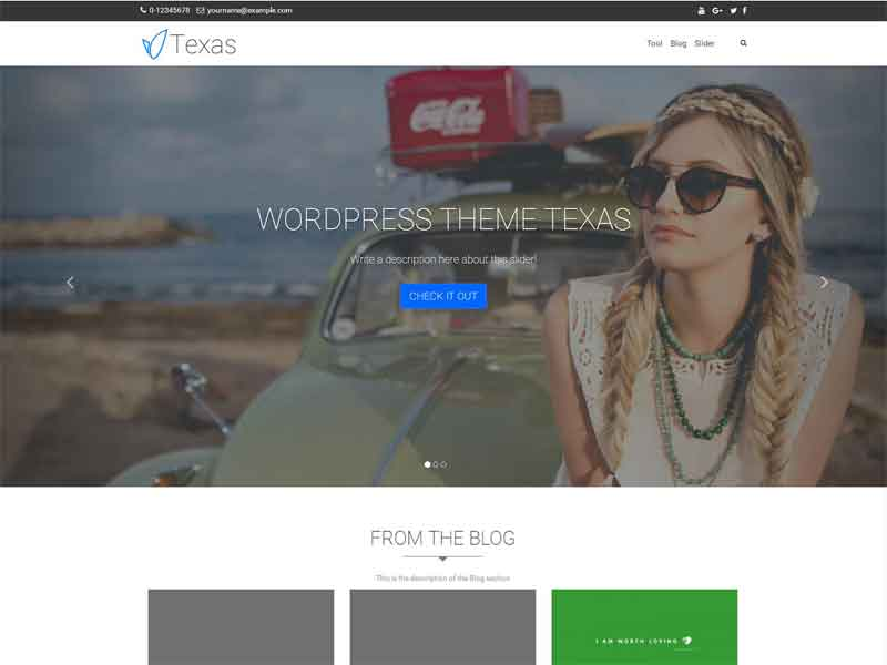 Free parallax WordPress Themes 2018 - HeadThemes