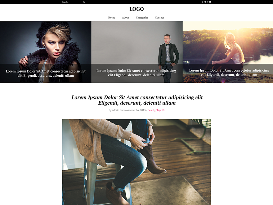 30+ Best Free Fashion WordPress Themes for Blogs [sigma_current_year] 18