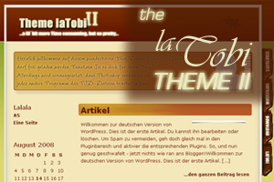 Theme laTobi II screenshot