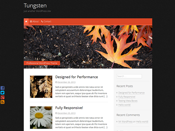 Tungsten screenshot