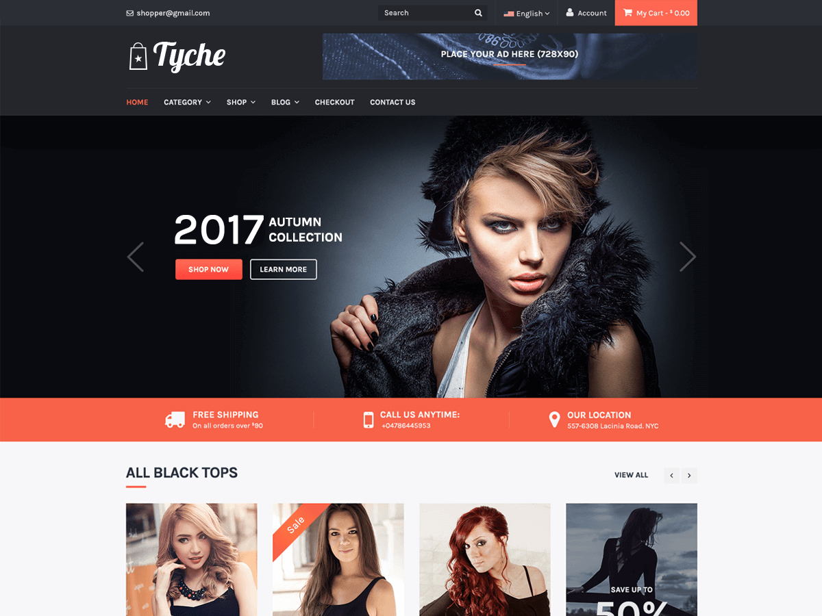 30+ Best Free Fashion WordPress Themes for Blogs [sigma_current_year] 8