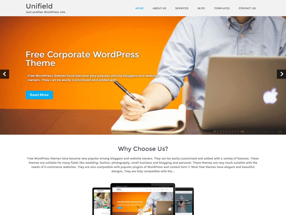 Best Free Business WordPress Themes 2018 - EnvoThemes