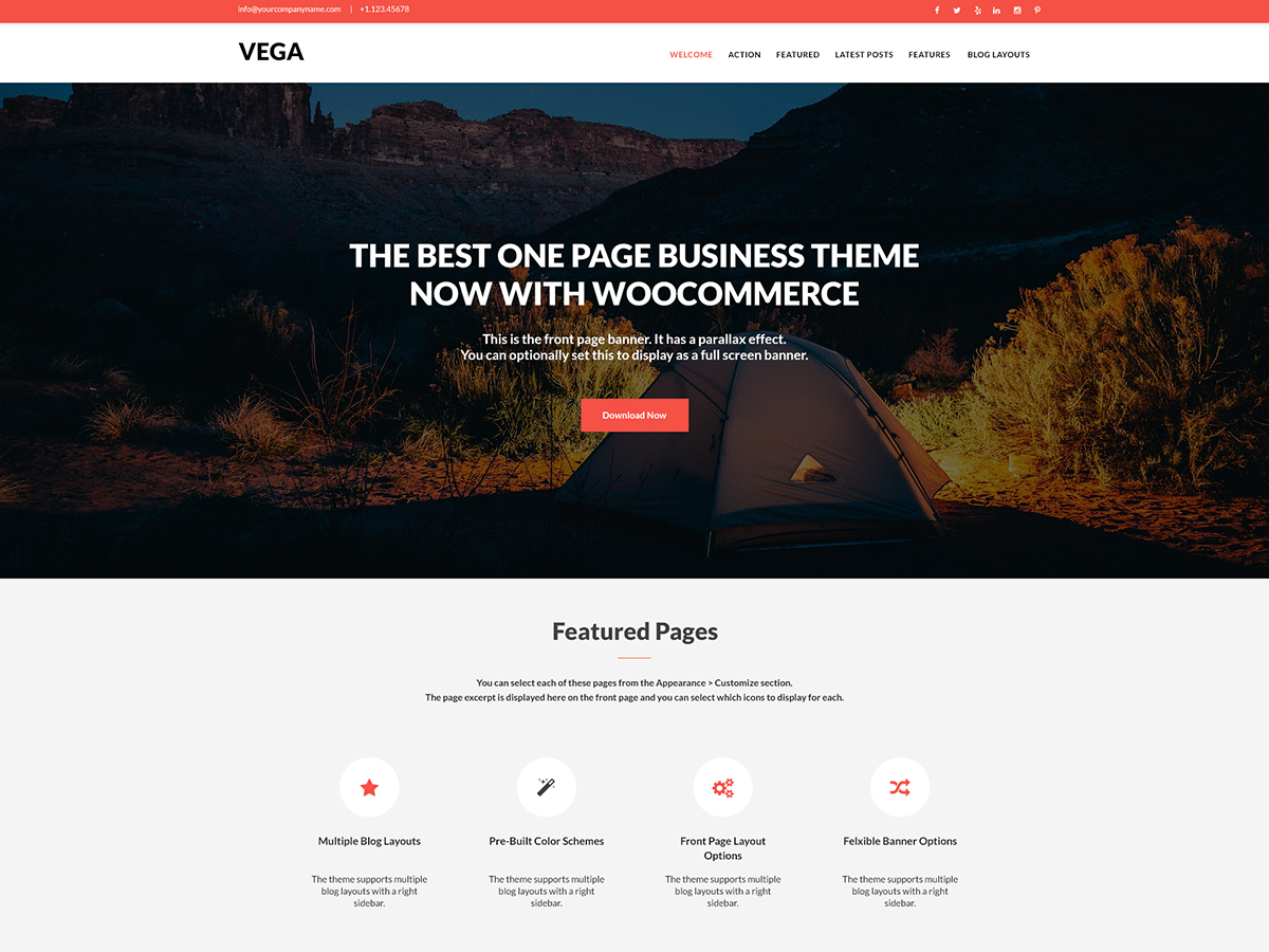 17+ Best Free Nature Inspired WordPress Themes [sigma_current_year] 15