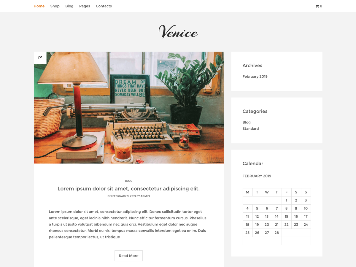 30+ Best Free Fashion WordPress Themes for Blogs [sigma_current_year] 17