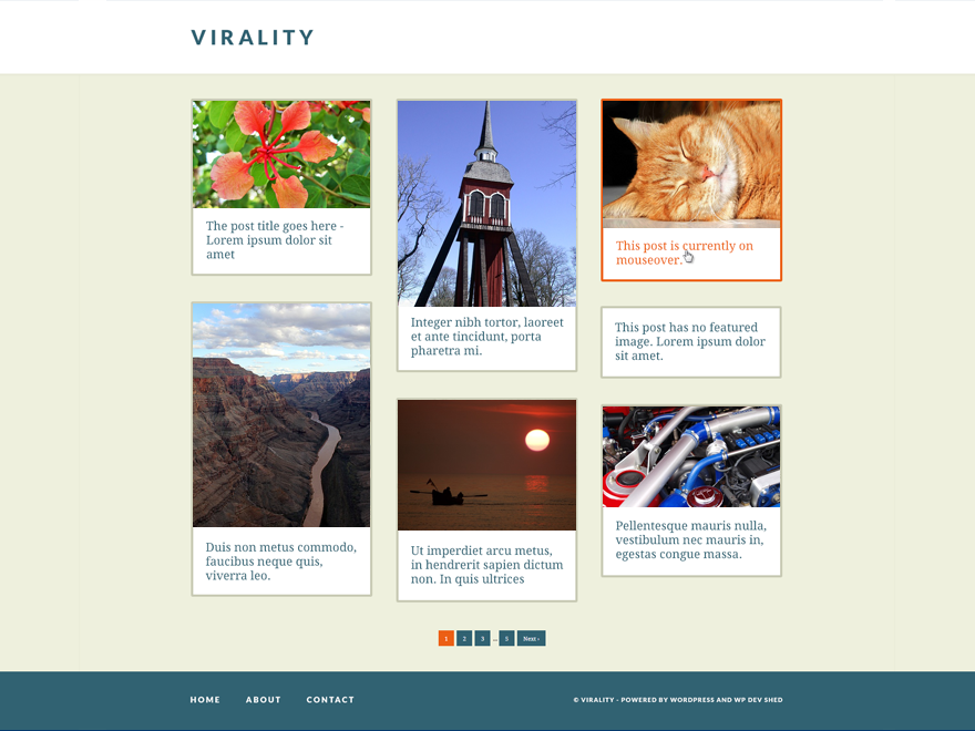 Virality screenshot