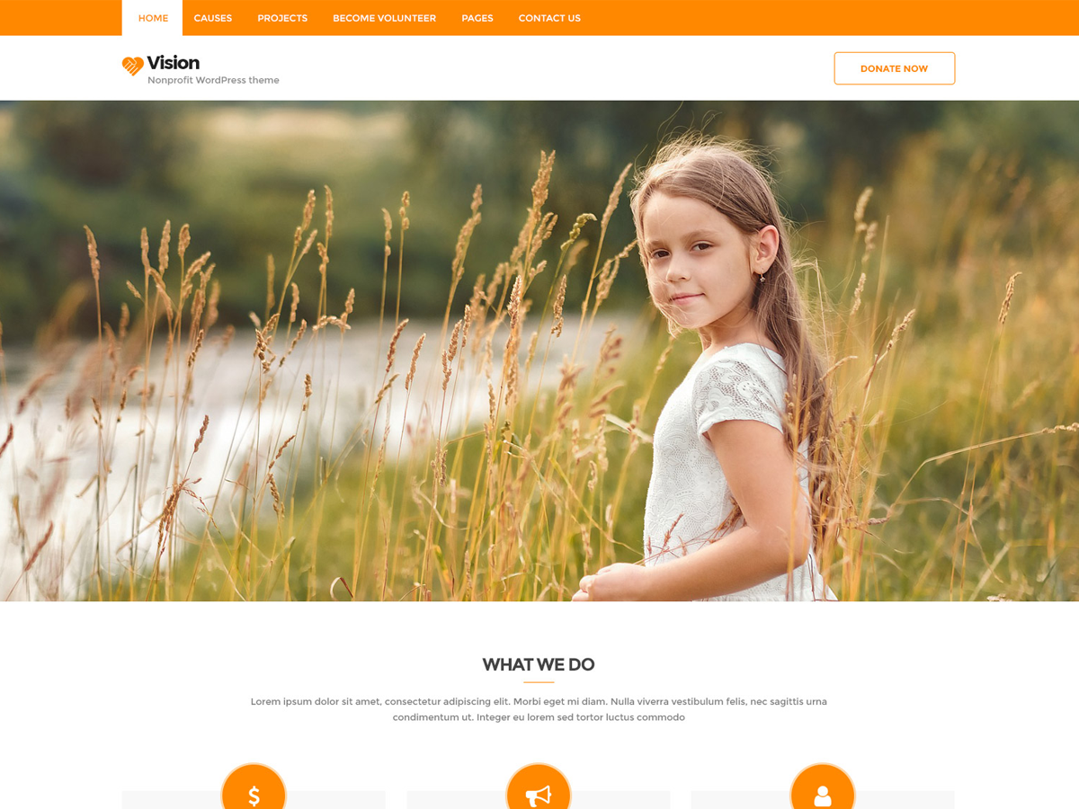 Top 15 Best Free Charity WordPress Themes 2019 13