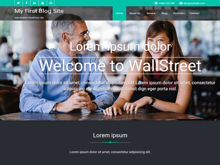 20+ Free Lawyers WordPress Themes 2019 18