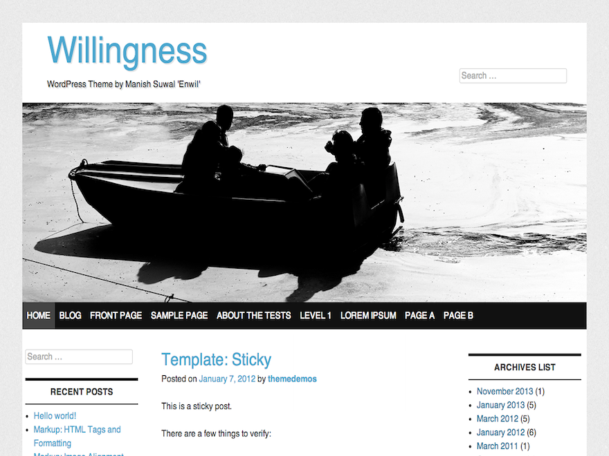 willingness screenshot