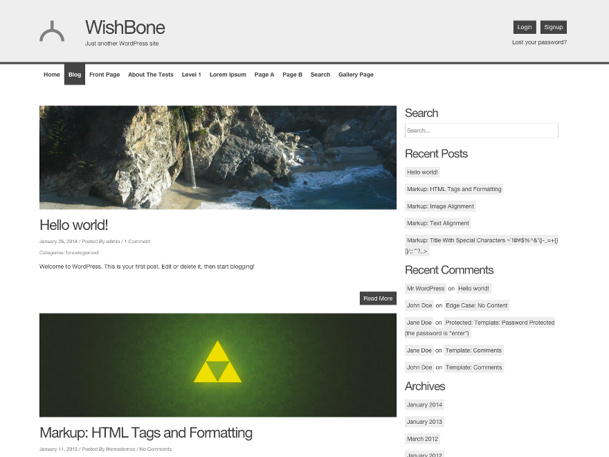 Wishbone screenshot