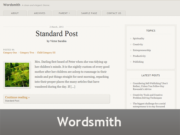 Wordsmith screenshot