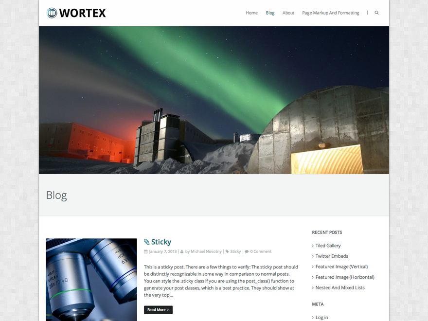 Wortex Lite screenshot