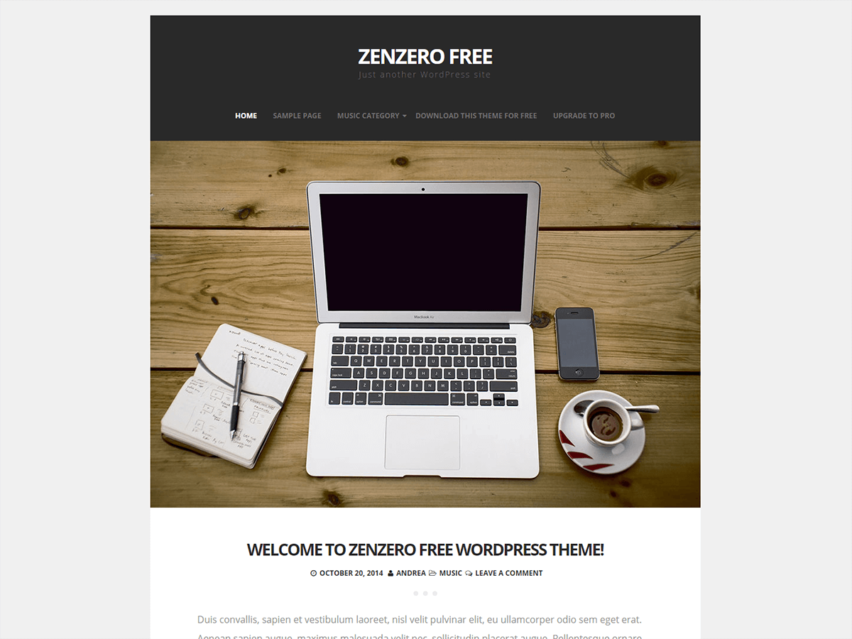 Zenzero screenshot